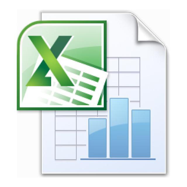 Excel 2013 icon vector